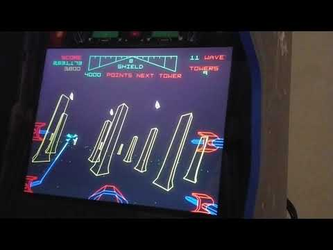 Arcade1Up with GRS yoke (9 shields with 3 bonus) from phillychick