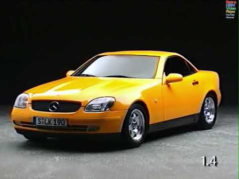 Mercedes-Benz - SLK Roadster - The R170 From The Service Angle (1996)