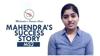 Mahendras Success Story | Heartiest Congratulations to the Achiever from our Mahendra Team !!! thumbnail