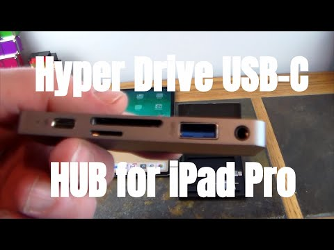 Hyper Drive USB-C Hub For IPad Pro: First USB-C HUB For IPad Pros