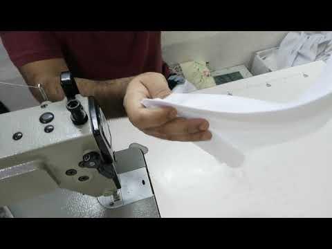 تعليم الخياطة طريقه القلاب الرقبة في الثوب Youtube