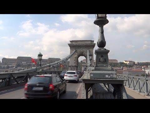 Budapest, Hungary - Széchenyi Lánchíd (Széchenyi Chain Bridge) HD (2013)