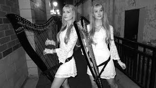 THE SOUND OF SILENCE (Harp Twins) Camille and Kennerly