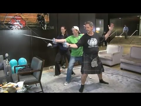 Casey Hudecki - The Mind Reels' Guinness World Record Attempt 2014