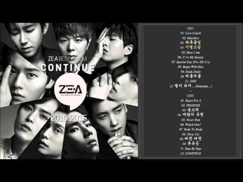 ZE:A (제국의 아이들) best album - CONTINUE | ZE:A best song & single