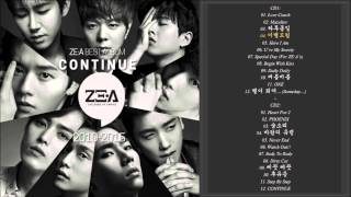 ZE:A (제국의 아이들) best album - CONTINUE | ZE:A best song & single
