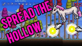 Terraria | How to spread the hallow in no time over your world