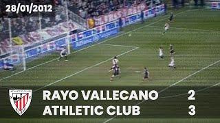 ⚽️ [Liga 11/12] J21 I Rayo Vallecano 2 - Athletic Club 3 I LABURPENA
