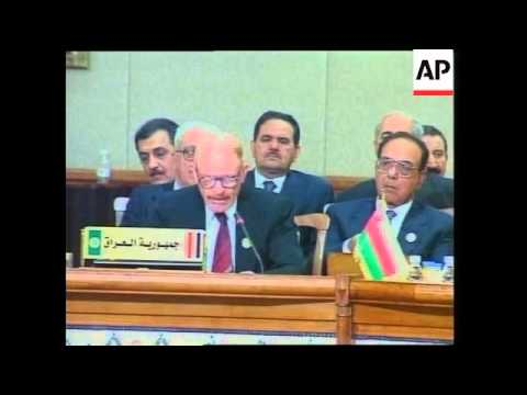 New Saddam Hussein's message to Arab League and the day's wrap