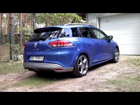 renault clio gt 120 edc grandtour exhaust sound youtube. Black Bedroom Furniture Sets. Home Design Ideas