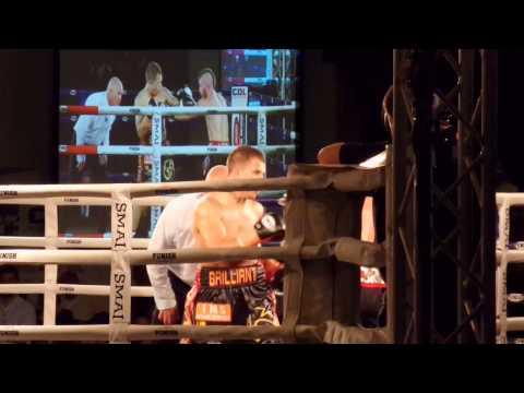 """Brilliant"" Brandon Ogilvie wins WA State Lightweight title 9.5.15"