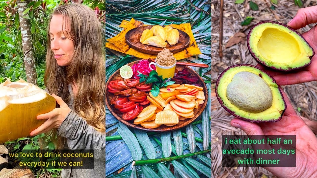 What I eat in a day on the raw vegan frugivore diet #shorts