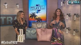 'Extra's' Travel Edition Pop-Up Shop: Toothbrushes, Straightening Irons, and Travel Bags