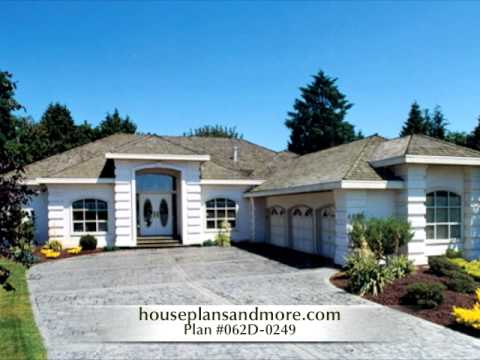 Charming Florida Style Houses Video 2 | House Plans And More   YouTube Great Pictures