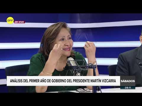Enfoque de los Sábados | Análisis del primer año del presidente Vizcarra