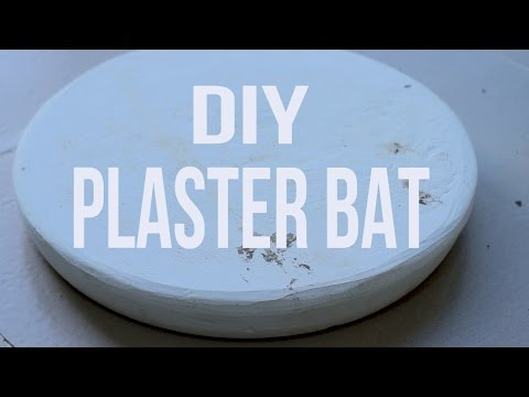 How To Make A Plaster Bat Mixing And Casting