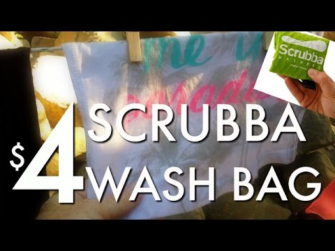 Diy scrubba wash bag for 4 do your own laundry anywhere diy scrubba wash bag for 4 do your own laundry anywhere solutioingenieria Choice Image