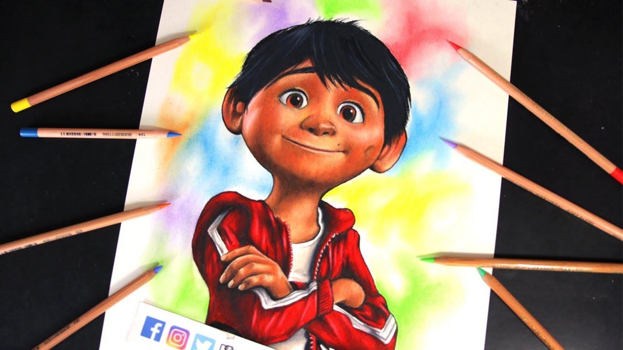 Miguel Coco Para Colorear: Reto Dibujando 12 Horas Sin Parar