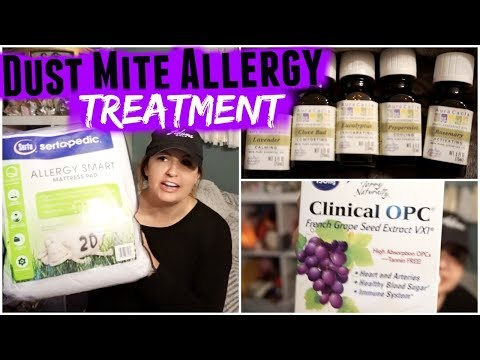 Dust Allergies | Supplements, Bedding & Essential Oil