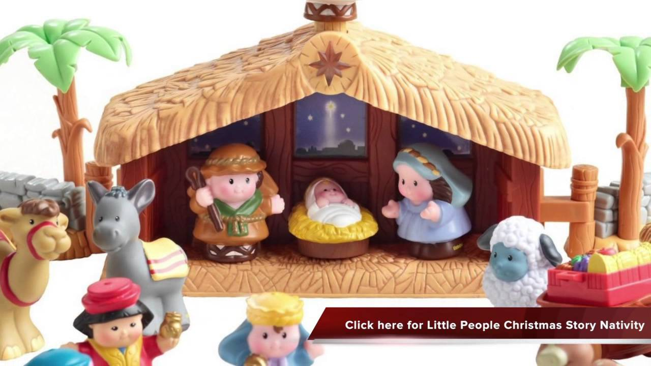 Check Out Little People Christmas Story Nativity With Lights And Sounds