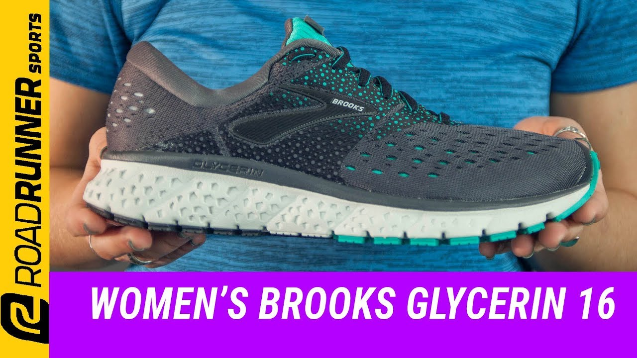 brooks womens glycerin 16