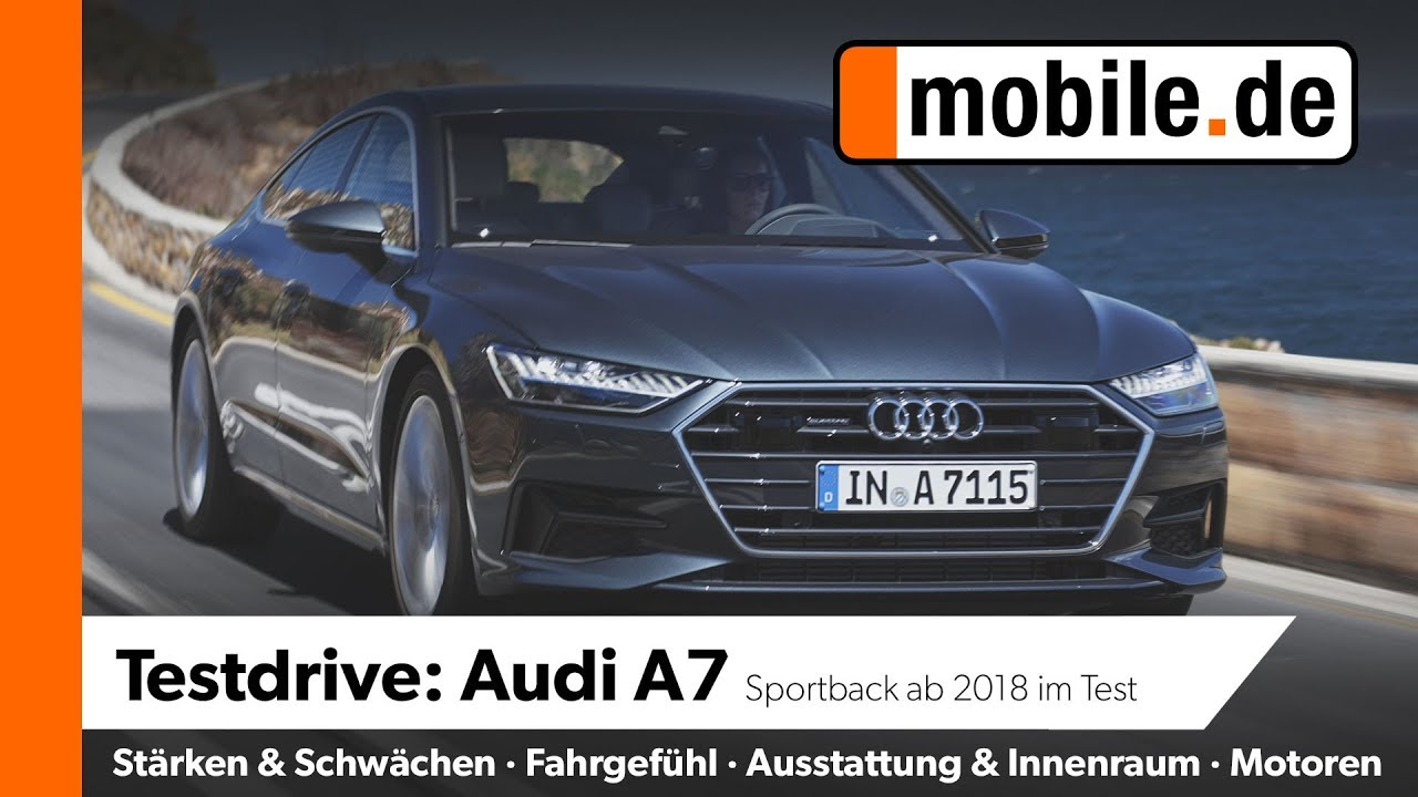 Audi A7 Mobile De Testdrive Youtube