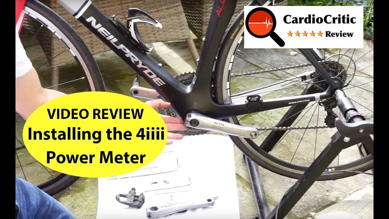 4iiii Precision Power Meter Crank Arm - Reviewed by Power