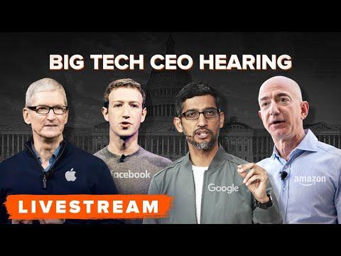 WATCH: Biggest Tech Billionaires testify before Congress (Full Hearing)