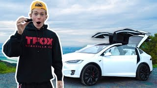 I BOUGHT THE FASTEST SUV IN THE WORLD! (TESLA MODEL X  P100D)
