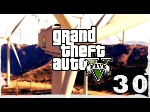 Смотреть прохождение игры Grand Theft Auto V. Серия 30 - Самые лучшие гонки в игре.
