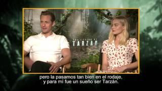 Entrevista a Alexander Skarsgard, Samuel L. Jackson y Margot Robbie - La Leyenda de Tarzán