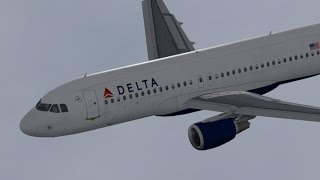 FSX HD Project Airbus 321 DELTA 5873 Boston to New York LaGuardia Full Flight Passenger Wing View