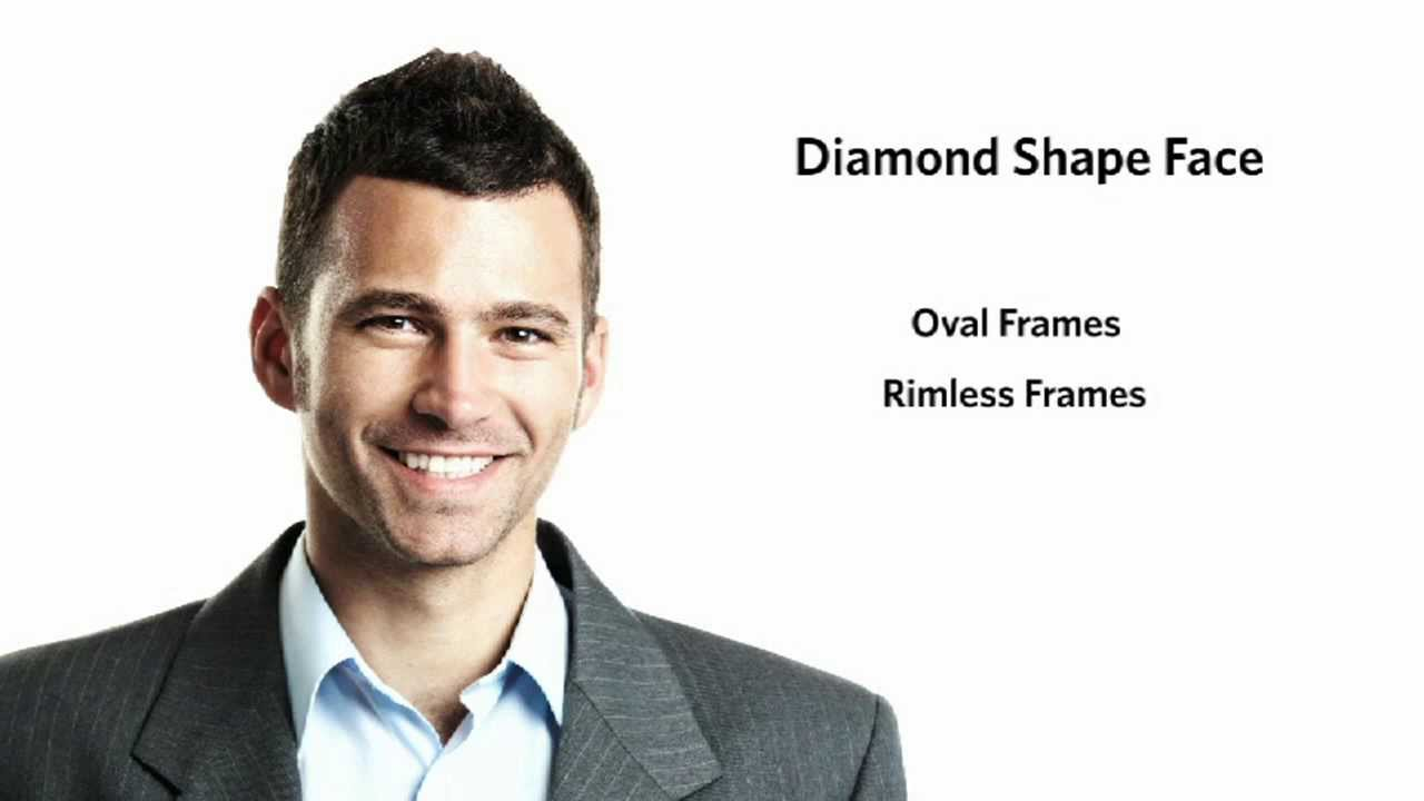 Hair Styles For Round Faces Men: Frames For A Diamond Face Shape