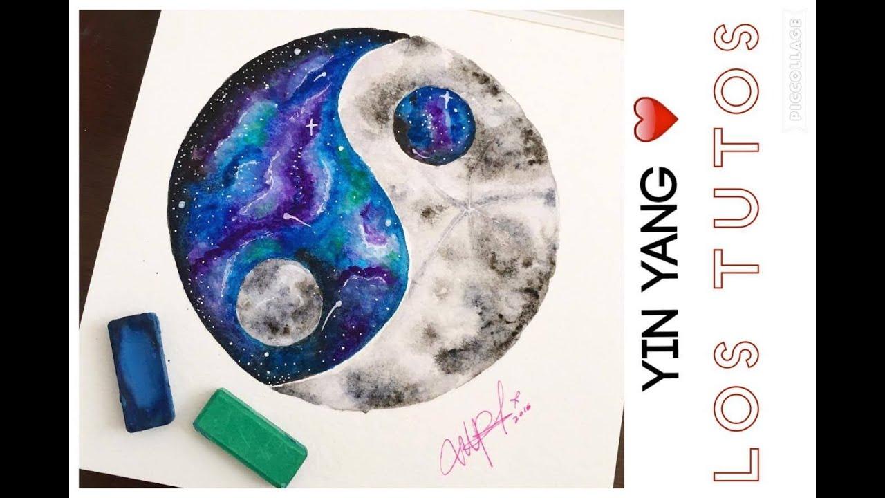 Como Dibujar Yin Yang Papel Strathmore How To Draw Yin Yang