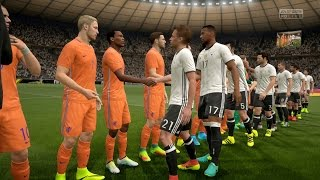 FIFA 17   Germany vs Netherlands - Full Gameplay (PS4/Xbox One)