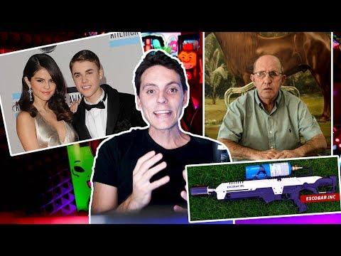Justin y Selena y El hermano de Escobar me vende un Lanzallamas-Wefere NEWS