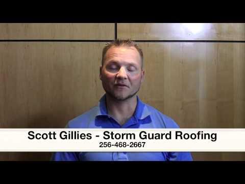Scott Gillies Storm Guard Roofing Huntsville Alabama