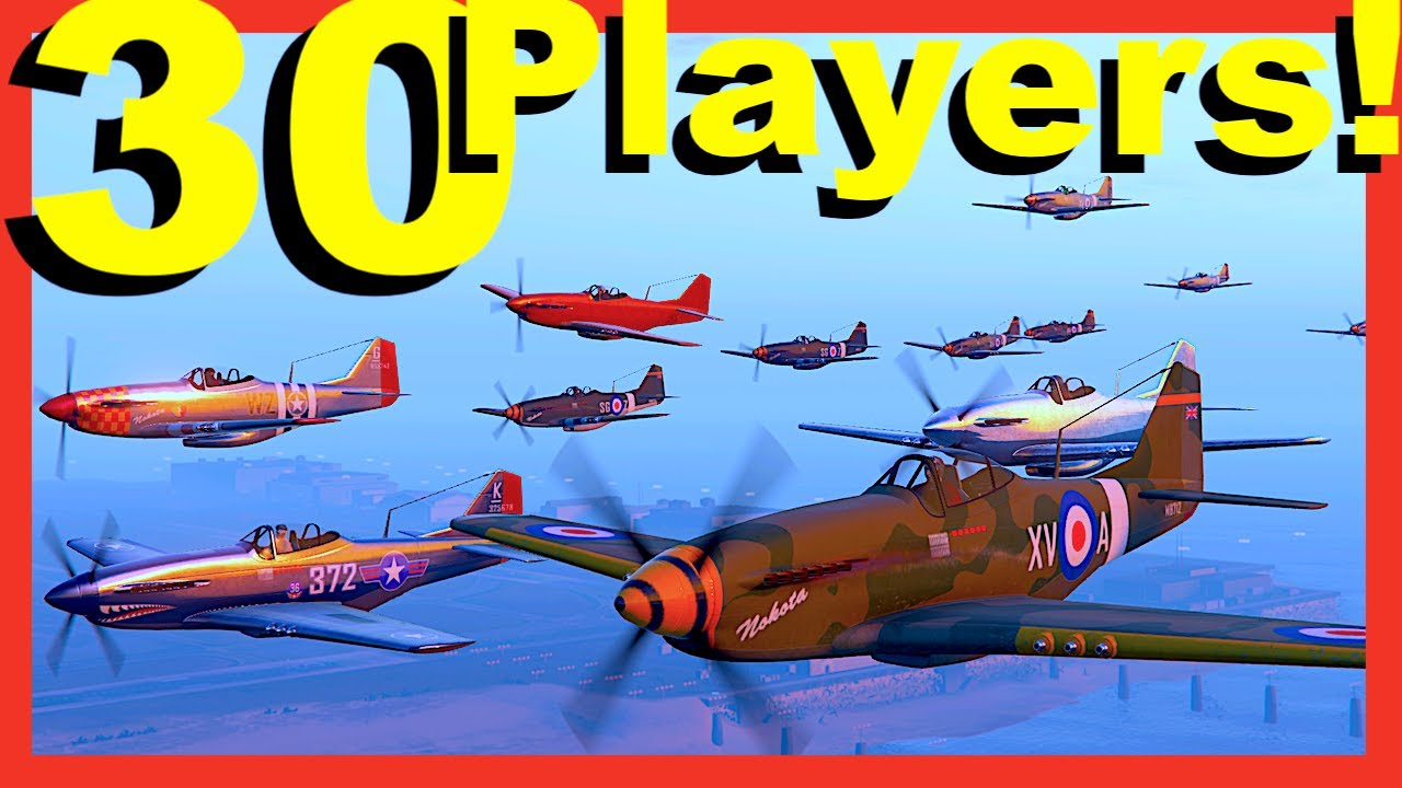 Full Lobby WW2 Dogfight! (GTA Online 2020)