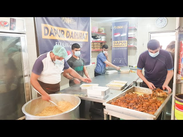 Bersama Muhammad Husein_Gaza, INH Salurkan Bantuan Palestina I INH for Humanity