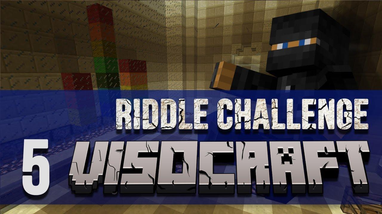 VISOcraft Youtuber's Server | RIDDLE CHALLENGE | Episode Five