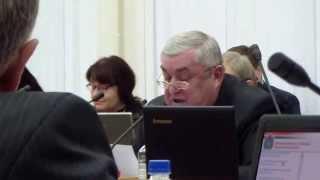 Скандал на сессии областного Парламента в Калуге