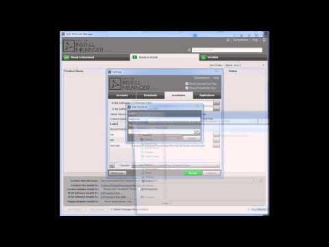 DAZ 3D Installation Manager 101a