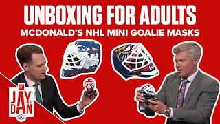 Do you remember these McDonald's NHL Mini Goalie Masks? | Unboxing for Adults