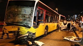 Metrobüs yolunda kaza: 5 ölü, 5 yaralı