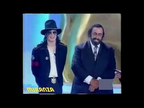 Michael Jackson & Luciano Pavarotti en 1997 - Subtitulado en Español
