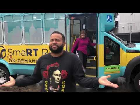 Try SacRT's SmaRT Ride On-Demand Shuttle