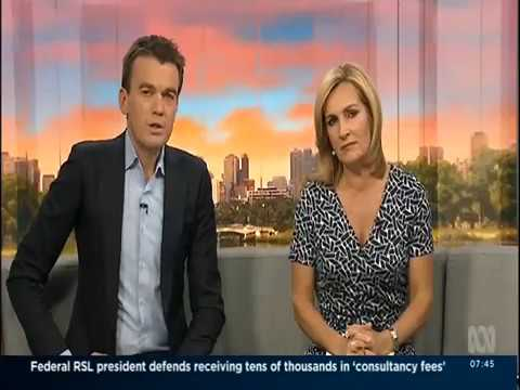 Carmel O'Brien - Blame Changer interview with ABC News Breakfast