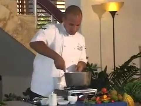 Jade Mountain St Lucia - Cooking Class with Exec Chef Jonathan Dearden
