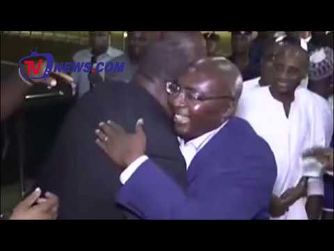 HERO DR. MAHAMUDU BAWUMIA BACK HOME FROM HIS MEDICAL LEAVE