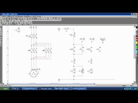Thiết kế mạch đảo chiều quay động cơ 3 pha ( Mô phỏng )